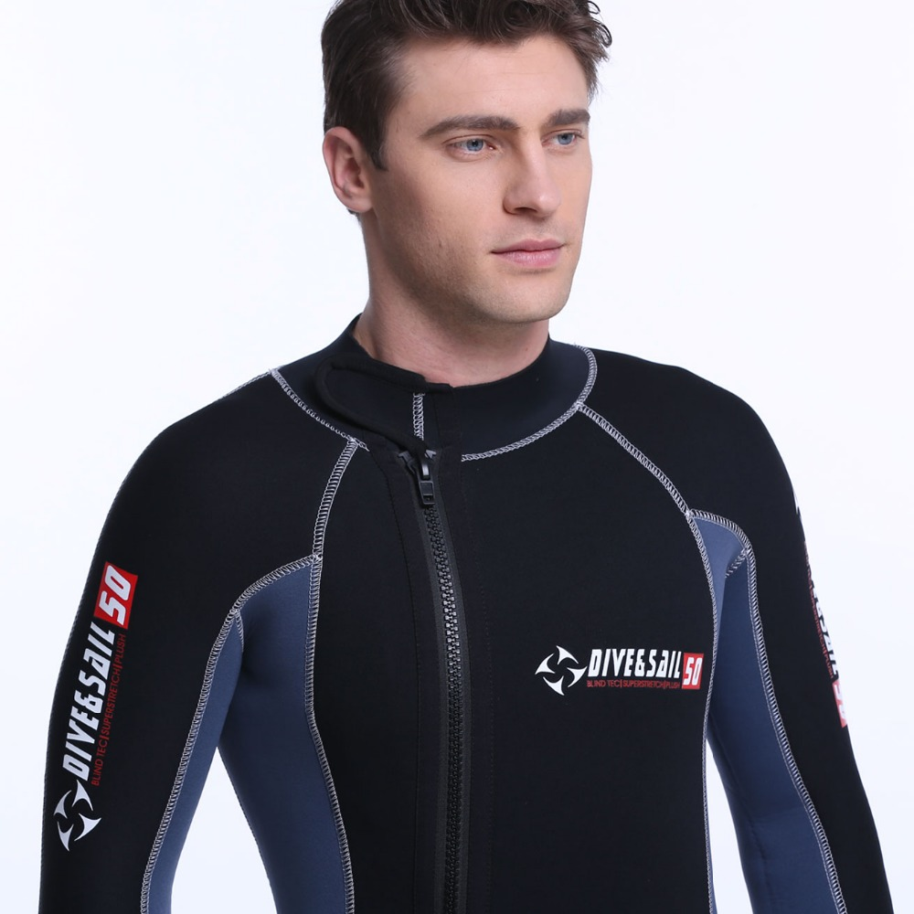 2 piece 5 Millimeter Thickness Wetsuit Premium Neoprene Design With Hood Wet Suit Diving Suit 5mm SCR