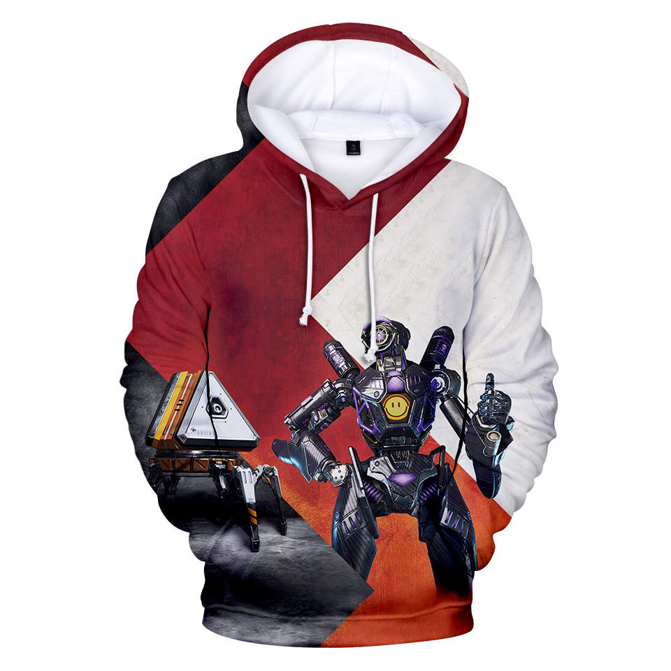 3D Apex Legends Game Character Printing Hoodies Sweatshirts Popular Boy Hoodedies Women Leisure Tops XXS_XXXL
