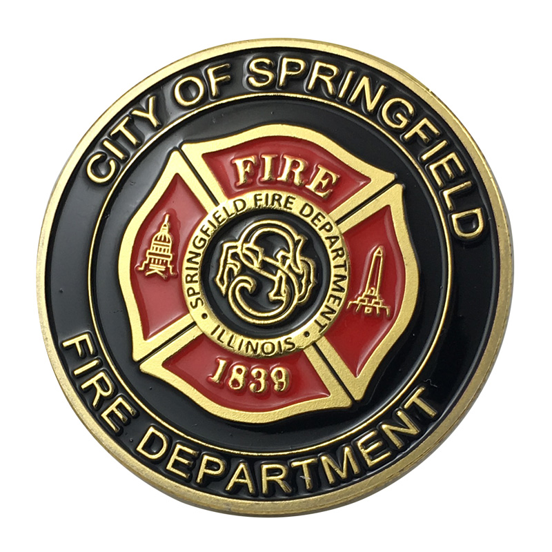 CITY OF MONTGOMERY FIRE RESCUE Challenge Coin