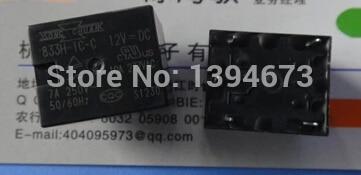 цена на HOT NEW relay 833H-1C-C 12VDC 833H-1C-C-12VDC 833H-1C 833H 12V 12VDC DC12V DIP5