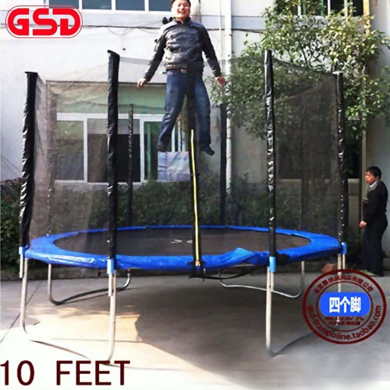 GSD visoke kvalitete 10 stopa proljetni trampolin sa sigurnom mrežom - Fitness i bodybuilding - Foto 2