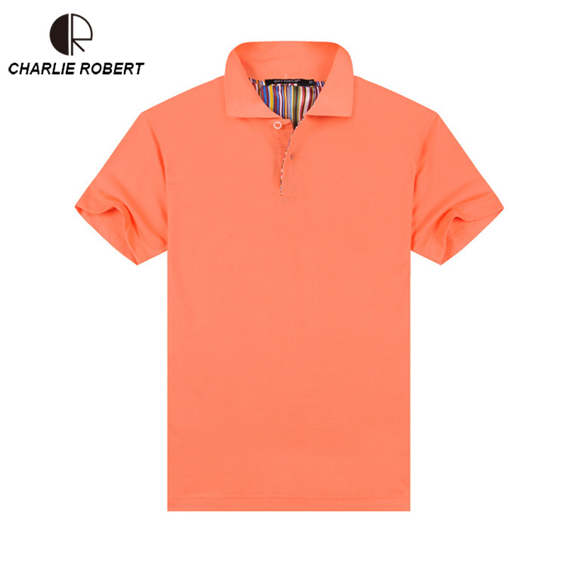 Lapel Wholesale Solid Color Men's Short-Sleeved Cotton Breathable High-Quality Half-Sleeved Overalls   Polo   Shirt MT1427