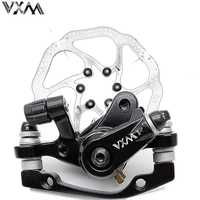 VXM Bicycle Brake Road/MTB Line Pulling Mechanical Disc Brake Set Calipers Front & Rear AVID BB7 With 160MM Rotors Bicycle Parts