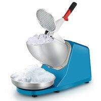 Trituradores de Gelo raspado comerciais smoothies máquina triturador doméstico pequeno mingau