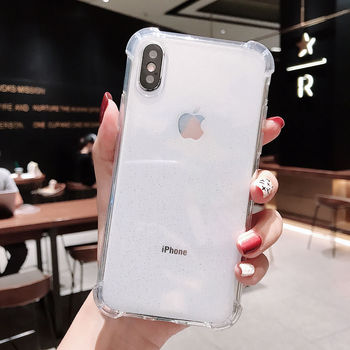 Transparent Back Cover iPhone Xs