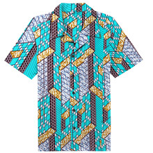 b476e9c69c4 African Clothing Dashiki Traditional Shirts Hot Selling National Custume  Wax Printed Design Bazin Plus Size Loose For Men