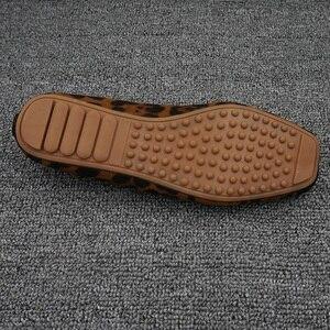 Image 5 - Zapatos bajos de leopardo para mujer, mocasines sin cordones, cómodos, Fordable, planos, bailarinas