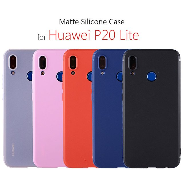 huge discount 8c7a0 93314 US $1.99 |huawei p20 lite case p 20 lite cover silicone, coque hoesje etui  capa cover huawei p20 lite on telefon case for phone bag-in Fitted Cases ...