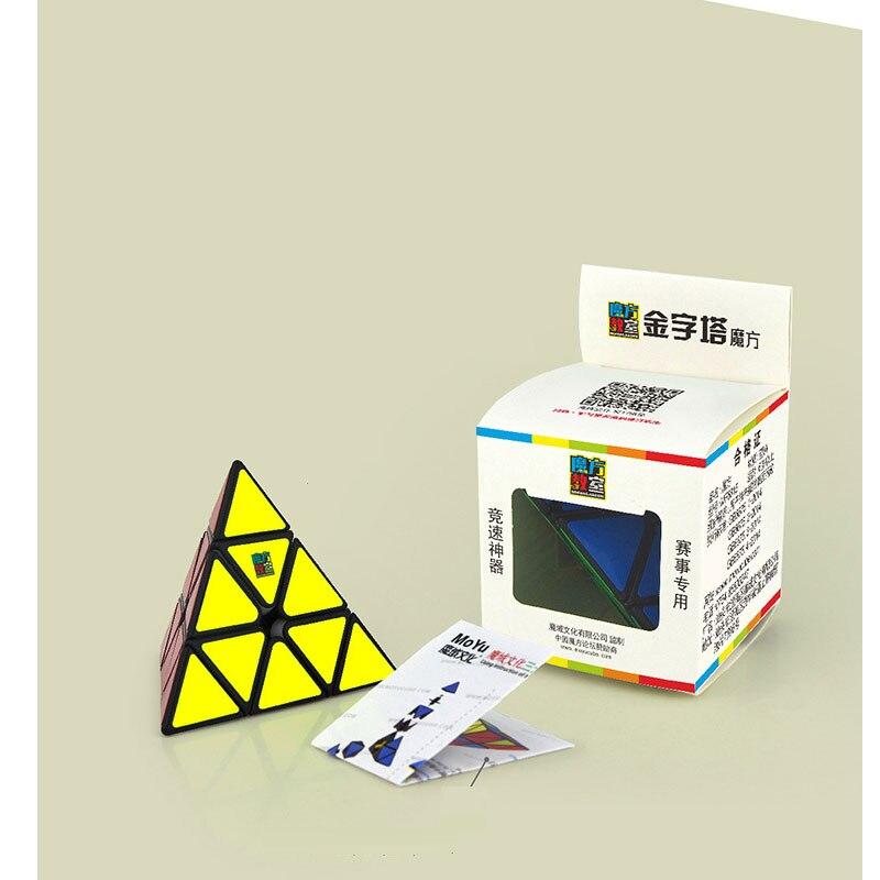 Pack Cube Puzzle Speed 5 pi/èces Magic Cubes Collection 2x2 3x3 Pyramix Skewb Megaminx Firbe Ensemble de Cube Autocollant Carbone Puzzle Toys Casse-t/ête cadeaux