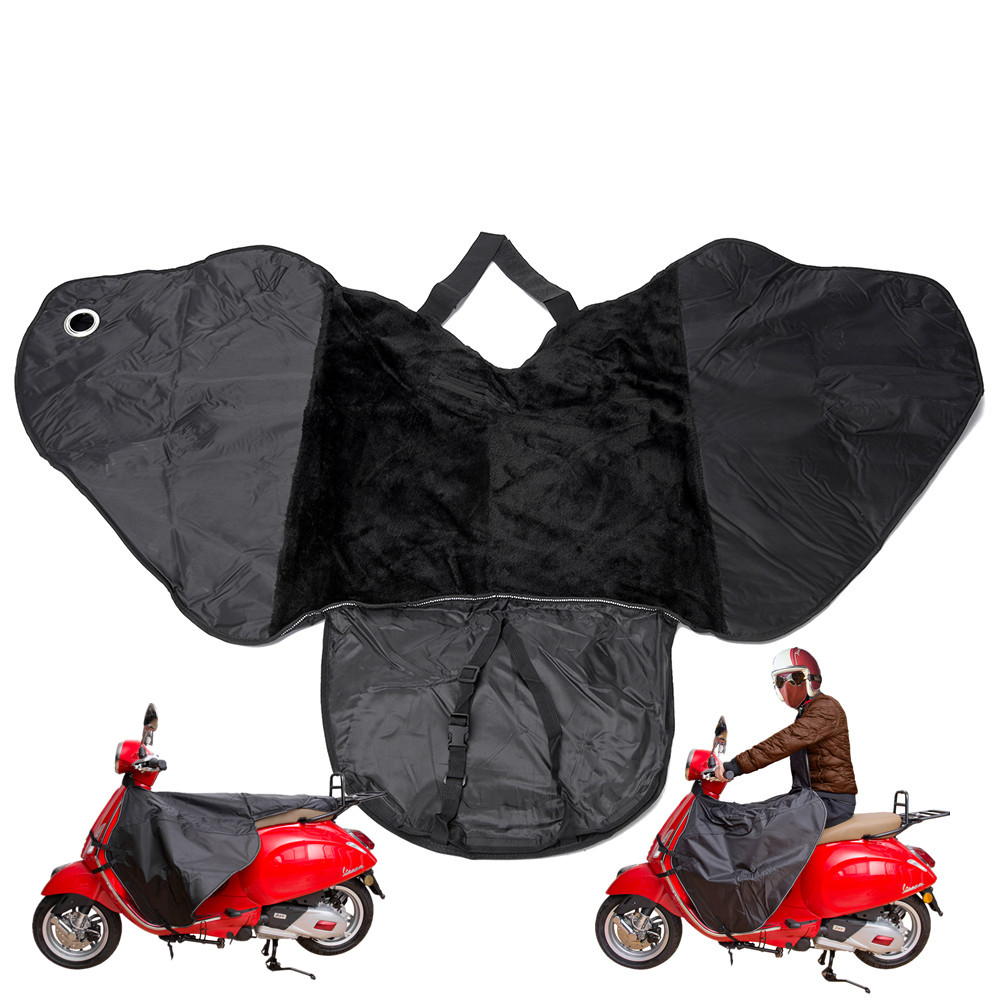 Motorcycle Leg Cover Warm Gloves Moisture Protector Knee Windproof Winter Quilt For All Vespa GTS GTV