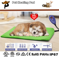 Pet Heat Pads Dog Cat Electric Heated Mat Puppy Animal Electric Heater Bed 40 30