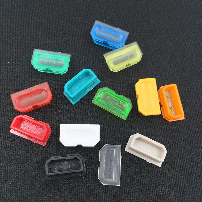 Multicolor Dust Cover For Game Boy GB Game Console Shell Dust Plug Plastic Button For DMG 001