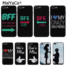 MaiYaCa Mr. and Mrs couple BFF  Popular Unique Design Phone Cover for iPhone 8 7 6 6S Plus 5 5S SE XR X XS MAX Coque Shell maiyaca mr and mrs couple bff popular unique design phone cover for iphone 8 7 6 6s plus 5 5s se xr x xs max coque shell