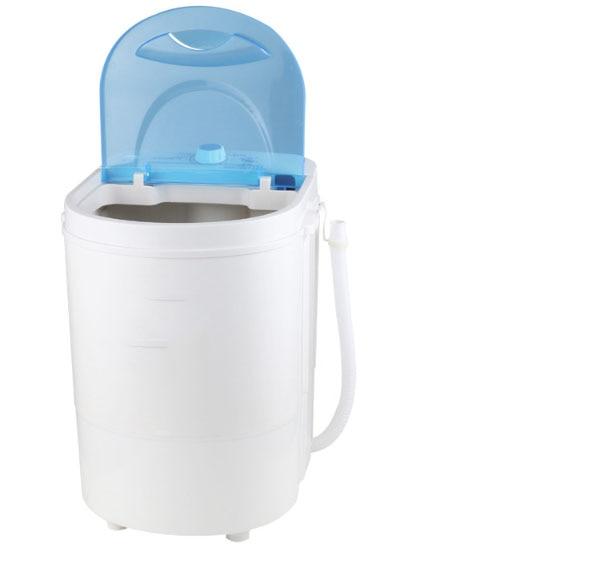 Free Shipping Semi-automatic Single Barrel Washerl Baby Child Wash Sock Machine Dormitory Home 4.5KG 260W Pure Copper Motor
