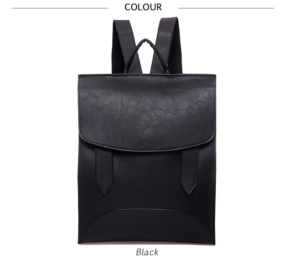 High Quality Women Backpack Leather Bags New Arrival 17 Backpacks For Teenage Girls Fashion Bag Woman Back Pack Bolsa Mochila 14