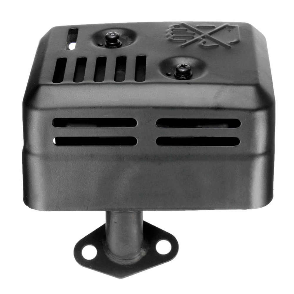 プロ排気マフラーシステムトータルステーションタイプホンダ 5.5 HP 6.5 HP GX120 GX160 GX200 アセンブリガスケットホット販売ホット