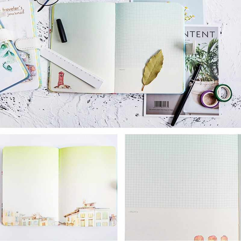 Creative Stationery Handbook Hardcover Color Magnetic Buckle