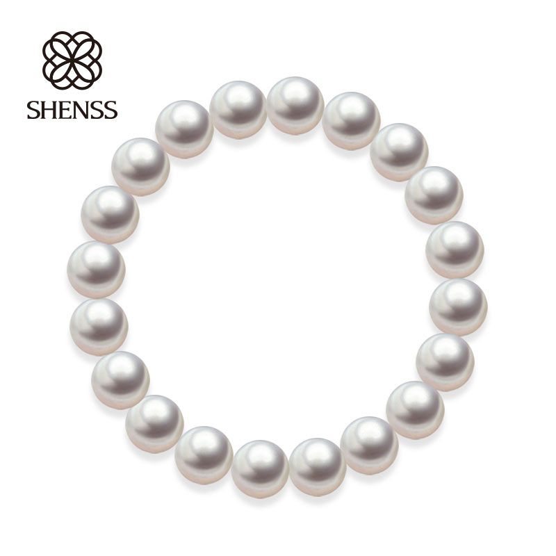 Quality Shell Pearl Bracelet Elastic Or Chain Customizable Women's Bracelets Of Various Sizes