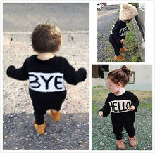 2Pcs set  Baby Toddler Kids Girls Boys T shirt Tops Pants Outfits Clothes Set 1