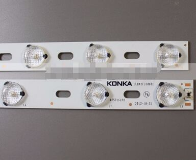 8 PCS//set LED backlight bar for KONKA LED42F3300DC 35016698 35016699