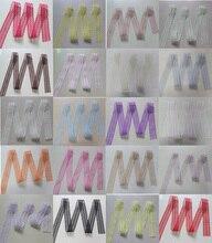 45 мм Ширина Белый Черный Дешевые Кружево Ткань отделка Лента 10 двор/lot DIY одежды Интимные аксессуары вышитые Кружево ленты двусторонние A13