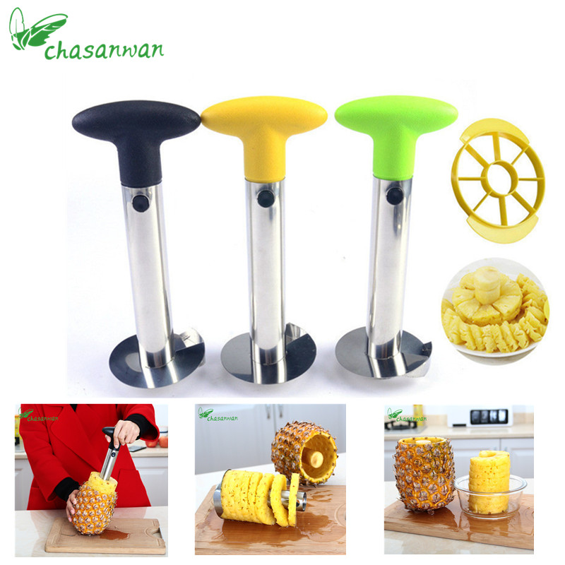 1Pcs Stainless Steel Pineapple Peeling Machine Kitchen Accessories Pineapple Slicer Cutting Machine Fruit Kitchen Tools.jw