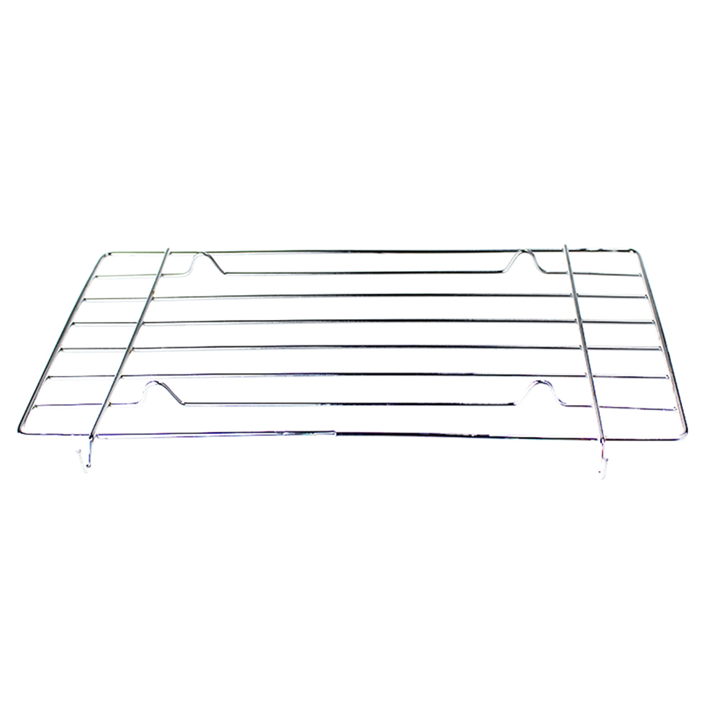 1pcs Stainless Steel Wire Steaming Barbecue Rack BBQ Grill Mesh Oven Net Carbon Grill 1