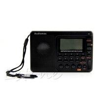 Récepteur LCD de réglage numérique TF lecteur MP3 REC AM FM SW Radio pleine bande Portable