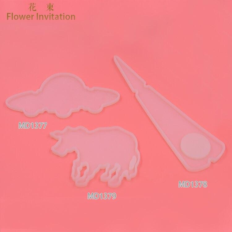 Flower Invitation UFO mould 1377-1387 Campanula Pendant Epoxy mould DIY cattle