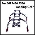 Высокое Качество Стеклянные Волокна Highten Шасси Комплект с антивибрационные Подушки для DJI F450 F550 Multicopter FPV Drone