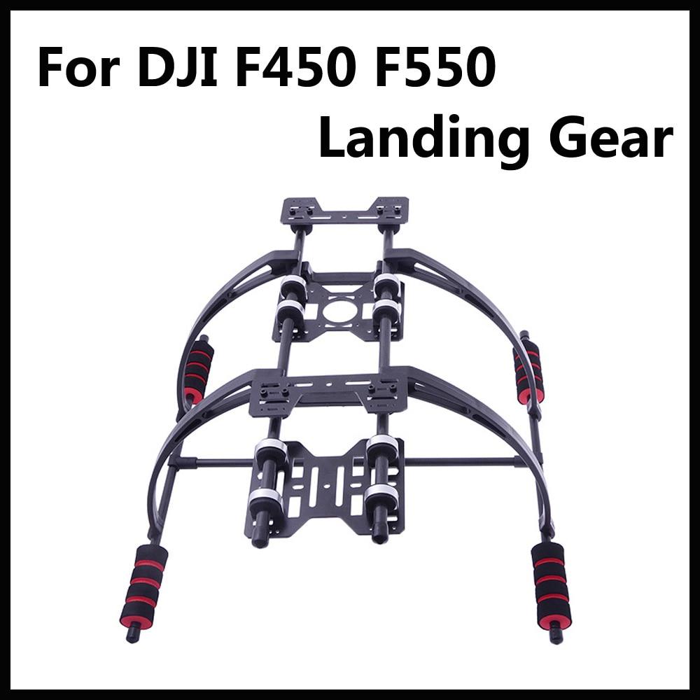 Haute Qualité Vitreux Fiber De Highten Train D'atterrissage Kit avec Anti-vibration Coussin pour F450 F550 Multicopter FPV Drone