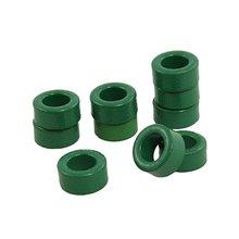 10 шт. катушки индуктора зеленые тороидные ферритовые сердечники 10 мм x 6 мм x 5 мм