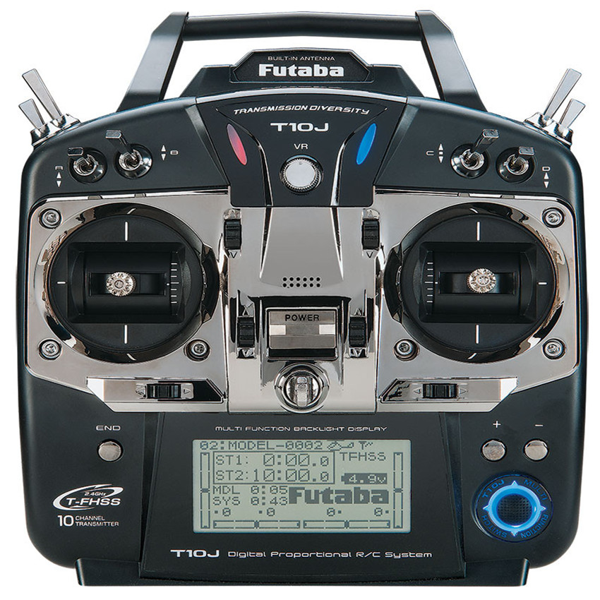 Original Futaba T10J 10J with R3008SB Receive 10 Channel 2 4GHz Radio System for RC Helicopter