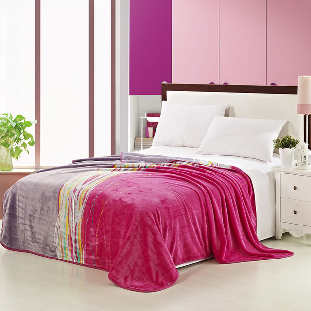 Shengyu Home Textile Velvet Blanket Thickening Thermal Blanket Bed Sheets  Spring And Autumn Blanket Time