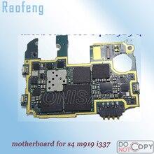 Raofeng Высококачественная материнская плата для samsung Galaxy S4 m919 i337 Разобранная разблокированная материнская плата хорошо работающая материнская плата