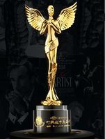 Высокое качество! Кристалл Стекло Дракон трофей супер атмосфера Новый трофей ежегодном собрании награды подарок Сувениры, Бесплатная дост