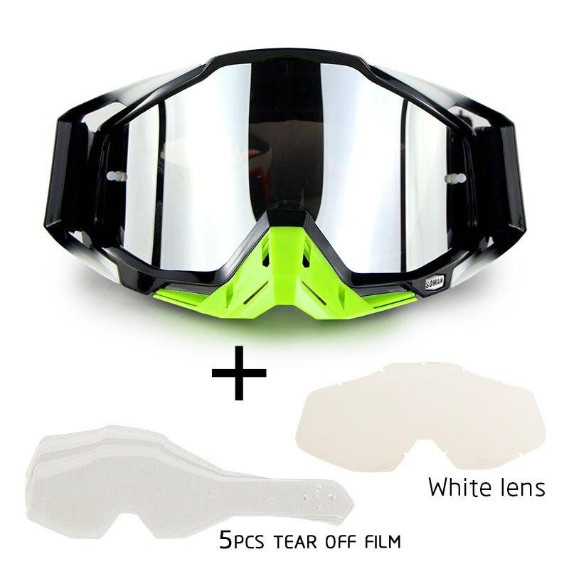 Gafas 100% óculos de proteção do motocross mx fora da estrada da bicicleta sujeira capacetes da motocicleta óculos de esqui esporte óculos de moto conjuntos