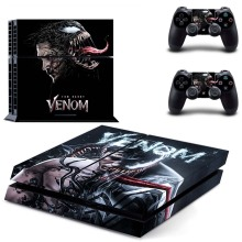 Venom Vinyl Skin Kit PS4 Console Sticker and Two Controller Skins for Sony Playstation 4