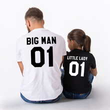 Dad's And Daughter's Cute Printed T-Shirts