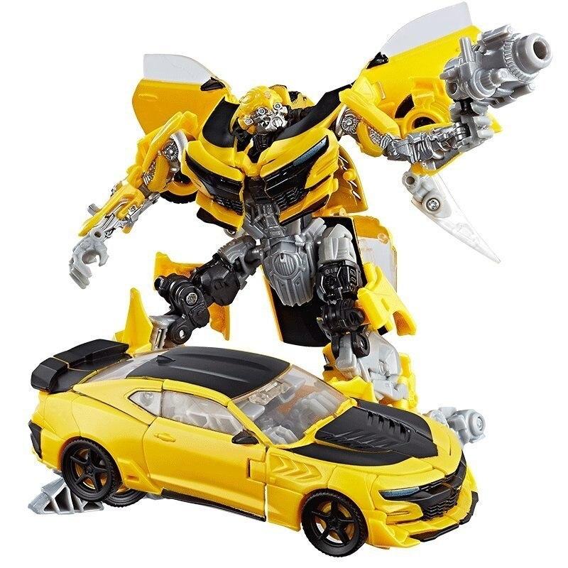 Hasbro Transformers Movie 5 Change 5 D-Level To Strengthen The New Model Hornet C2962 Boy Christmas Gift hasbro transformers genuine movie series mb 13 broken bone boy toy