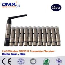 Бесплатная доставка DHL Новый XLR 2.4 ГГц Беспроводной DMX контроллер маленький размер высокого качества рецепторов
