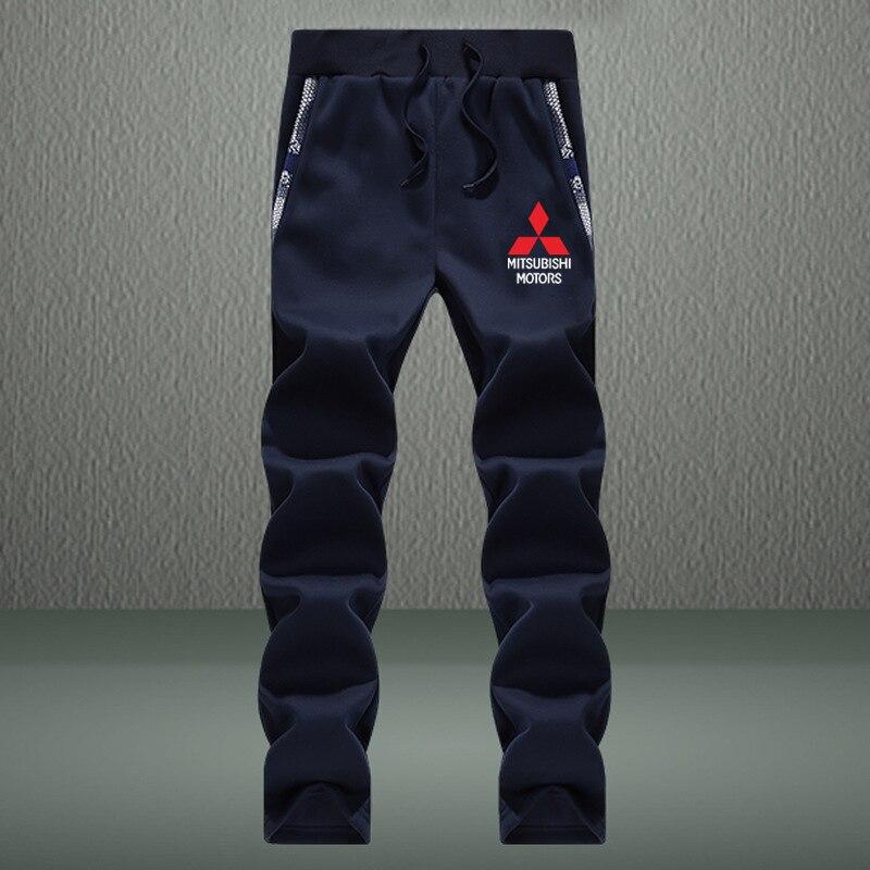 Mitsubishi Pants Men's Fitness Sweatpants Mitsubishi Logo Camo Pants Military Trousers Jogger Casual Men Joggers Pants   Shopping discounts and deals