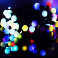 LED Christmas Lights Indoor  Wedding/Party Decoration Lights AC 110V 220V outdoor Waterproof led lamp 9 Colors
