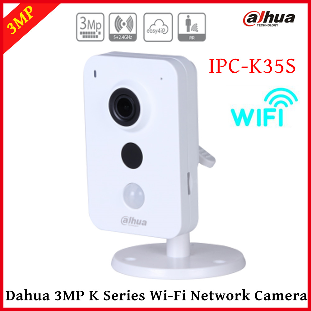 Dahua IP Camera wifi IPC-K35S Wifi Camera K Series Dual Band 1/3 CMOS 2304x1296 support Easy4ip cloud and SD card up to 128GB перфоратор prorab 2304 k