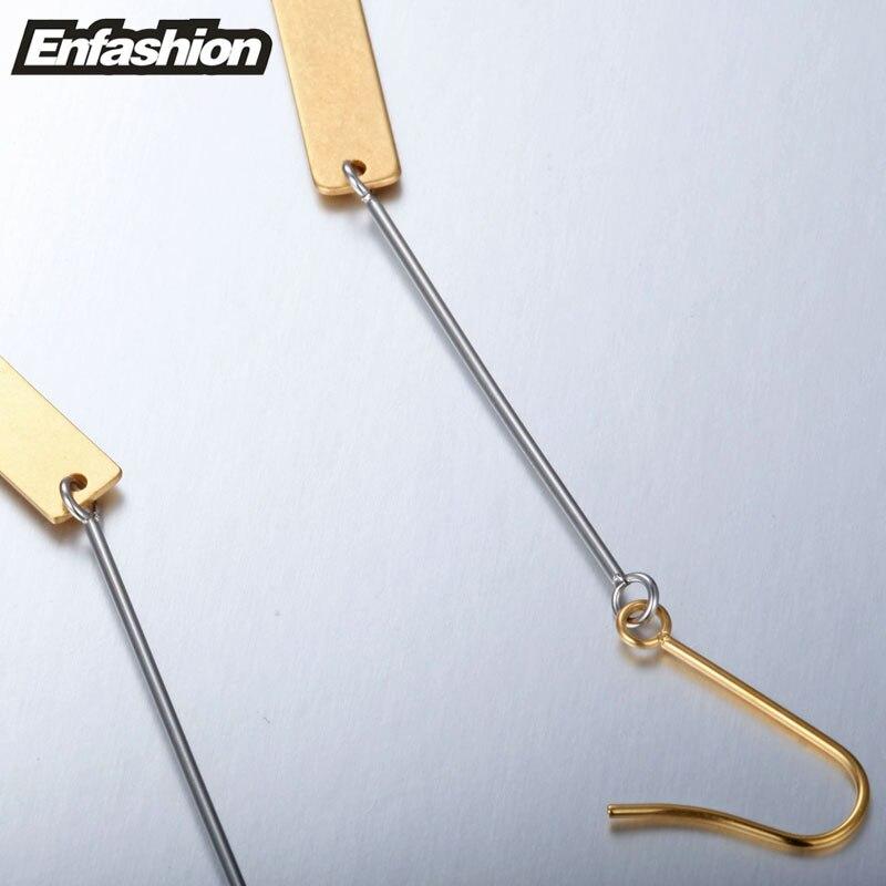 Enfashion Partihandel Vintage Long Bar Örhängen Drop Earring Matt - Märkessmycken - Foto 5