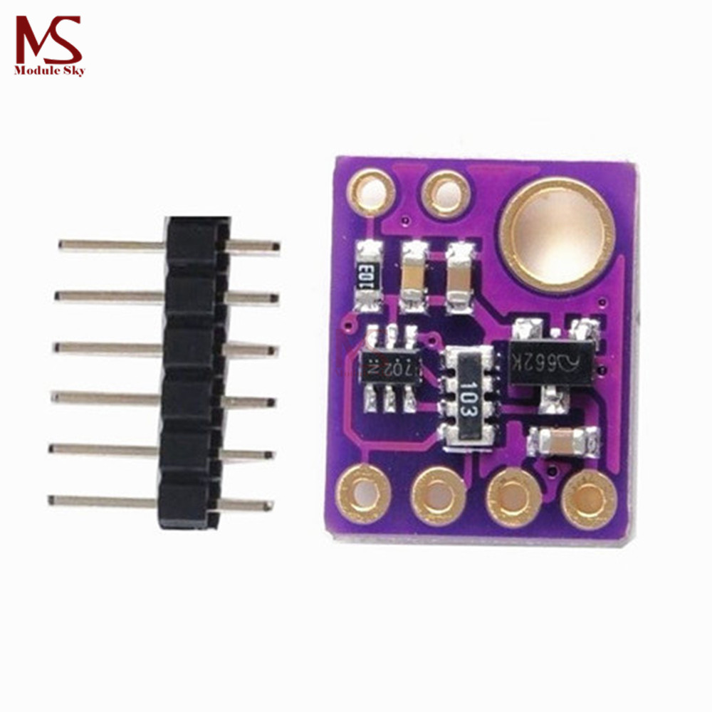 I2C SI1145 UV IR Visible Sensor GY1145 6Pin Header Light Breakout Board Module