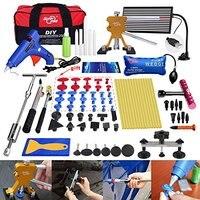 PDR Set Kits and Repair Body Starter Damage Black Paintless Car for Door Hail Dings Hand Tool Set
