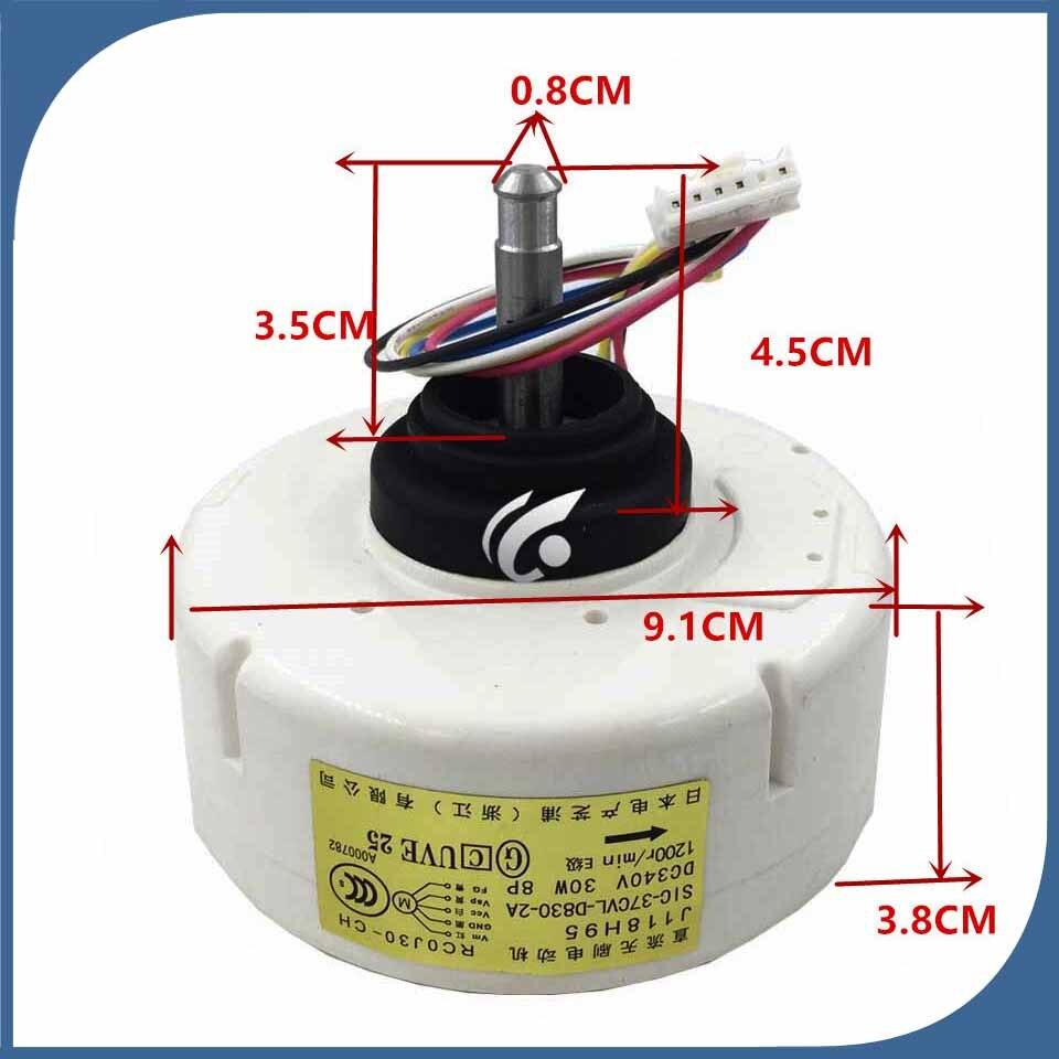 Nouvelle bon pour climatiseur moteur Du Ventilateur machine moteur RC0J30-CL RC0J30-CG RC0J30-PC RC0J30-CH J118H95 SIC-37CVL-D830-2A