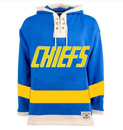 Brothers Hanson Charlestown Chiefs Hockey Hoodie Personality Customize Any Name Any Numeber Stitched Sweater Ice Hockey Jersey