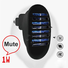 Mini Mosquito Killer LED Light Night Light Lamp Bulb Electric Insects Flies Pest Bug Killer Low Noise Ultraviolet Attracts